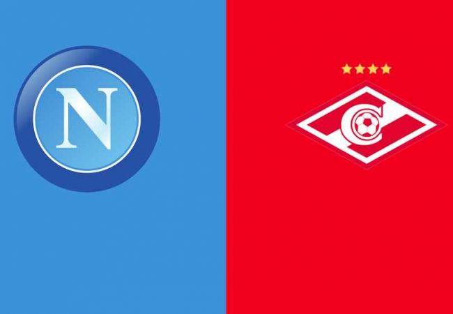 Napoli-Spartak Mosca, 2° giornata fase a gironi Europa League 2021-2022.